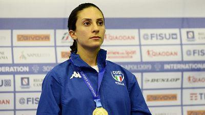 Universiadi, Cipressa primo oro Italia