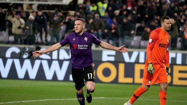 Fiorentina: ritiro a Moena, c'è Veretout