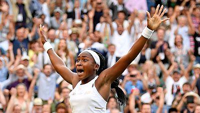 Teenager Gauff digs deep to continue dream run at Wimbledon