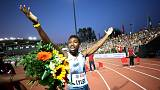 Sizzling Lyles becomes fourth fastest man ever at 200m