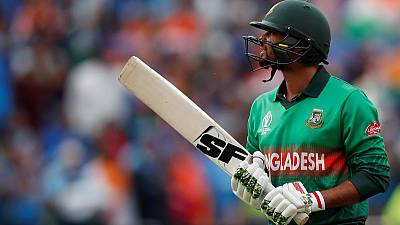 Bangladesh captain bids farewell to World Cup with praise for mighty Shakib