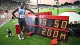 لايلس الممتع يصبح رابع أسرع عداء على الإطلاق في سباق 200 متر