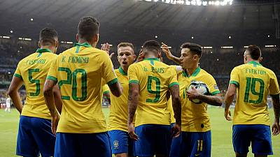 Brazil primed for home Copa triumph, wary of upset threat