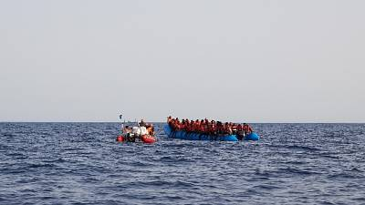 Notificato a A.Kurdi stop acque italiane