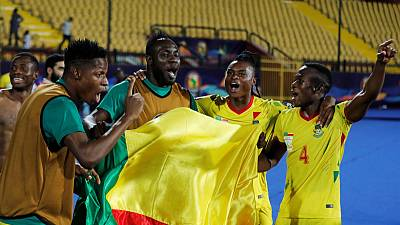 Benin pinching themselves after dream victory over Morocco