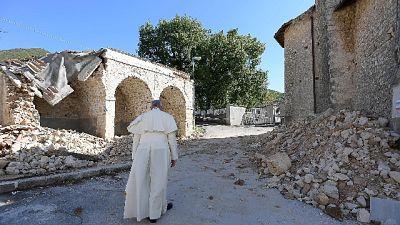 Papa: Amatrice, ricostruzione ritarda