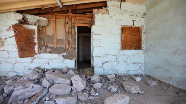 Shaken communities take stock of damage after Southern California quakes