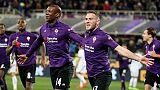 Fiorentina, squadra arrivata a Moena