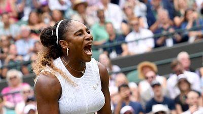 Wimbledono: Serena Williams agli ottavi
