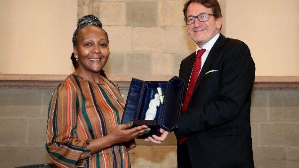 La nipote di Mandela a Modena