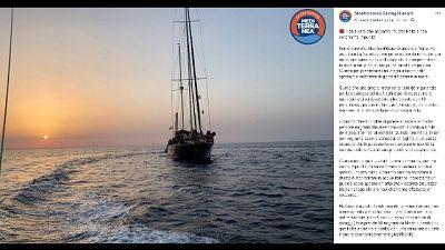 Nave Alex verso Lampedusa
