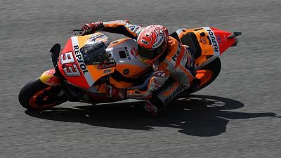 Motorcycling: Marquez on pole at Sachsenring for 10th year in a row