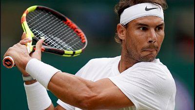 Wimbledon: Tsonga ko, Nadal agli ottavi