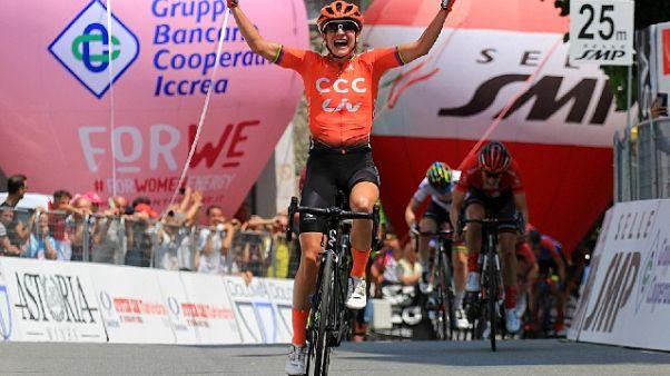 Giro Rosa: vince Vos, Niewiadoma leader