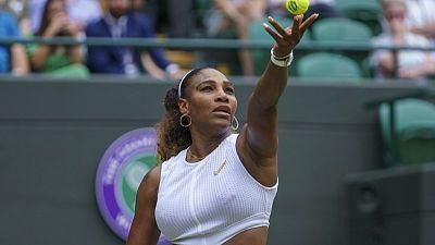 The real Serena finally shows up at Wimbledon