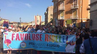 In 10mila a Pisa per il Toscana Pride
