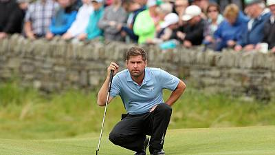 England's Rock grabs Irish Open lead with record round of 60