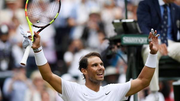 Heavier balls to blame for slower game at Wimbledon, says Nadal