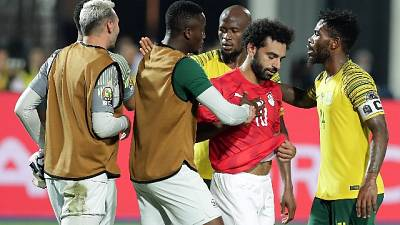 Coppa Africa: Egitto ko,Sudafrica avanti