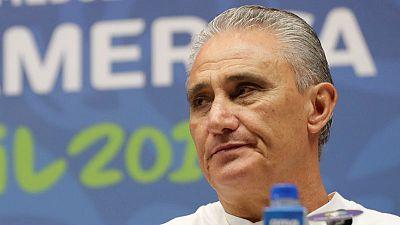Uncertainty over Tite's future as Brazil eye Copa triumph