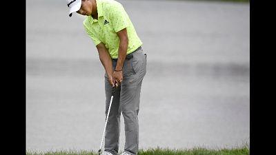 Golf, al 3M Open un terzetto al comando