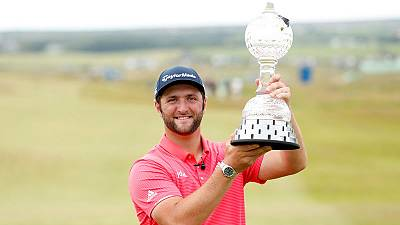 Golf: Spain's Rahm shines on final day to seal second Irish Open title