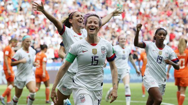أمريكا تفوز 2-صفر على هولندا وتحرز لقب كأس العالم للسيدات للمرة الرابعة