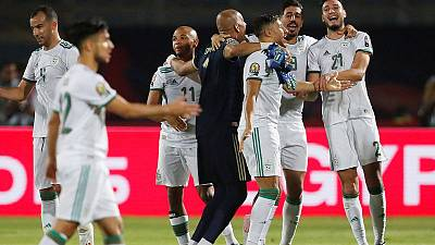Belaili, Mahrez star as Algeria outclass Guinea