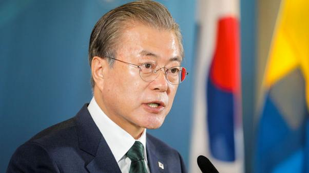 South Korea's Moon urges Japan to remove export curbs