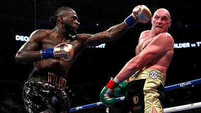 Wilder rematch set for February, says Fury