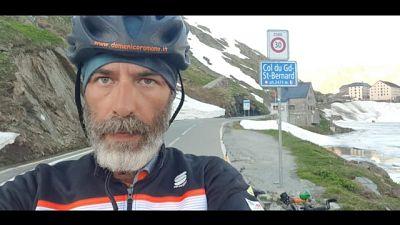 In bici dalla Sicilia a Londra, 2.789 km