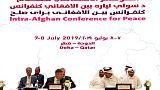 محادثات سلام بين طالبان وأفغان آخرين في قطر والقتال يستعر في الداخل