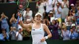Riske rewarded in Barty battle at Wimbledon