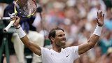 Wimbledon: Nadal promosso ai quarti