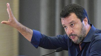 Salvini, ok sospensione sindaco Bibbiano