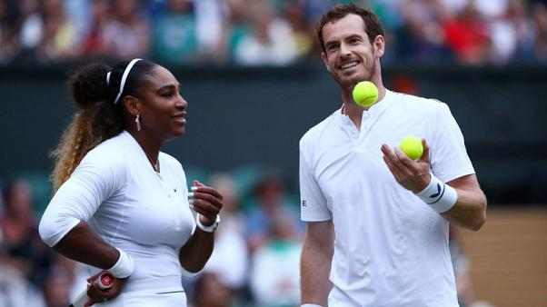 Serena wants Murena mixed doubles team name