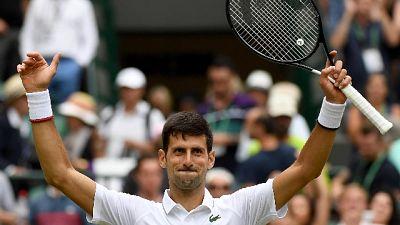 Wimbledon:Humbert ko, Djokovic ai quarti
