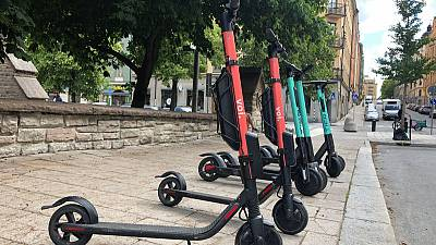 E-scooters put Swedish start-up on road to positive cashflow