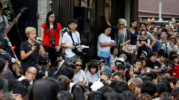 Hong Kong singer-activist urges U.N. rights body to defend territory