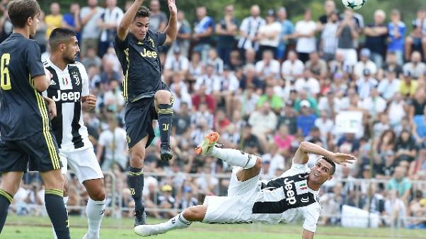 Juve: il 14/8 la partita a Villar Perosa