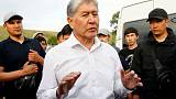 Kyrgyz ex-president dismisses police summons as 'circus'