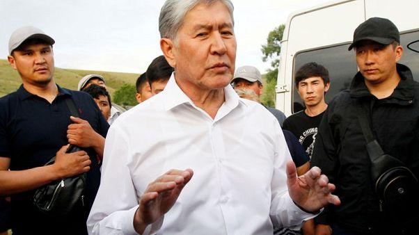 Kyrgyz ex-president dismisses police summons as 'circus'