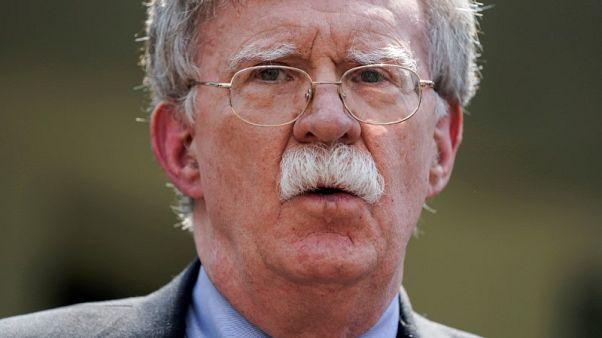 بولتون: أمريكا ستواصل الضغط على إيران حتى تتخلى عن برنامجها للأسلحة النووية