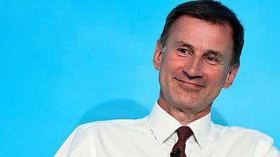 PM hopeful Hunt pledges to support U.S.-style entrepreneurs