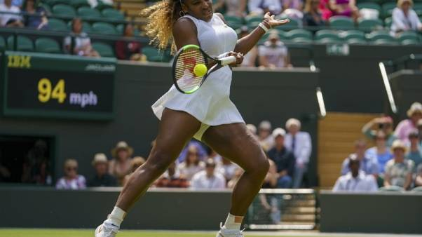 Serena Williams fined €8,900 for damaging Wimbledon court