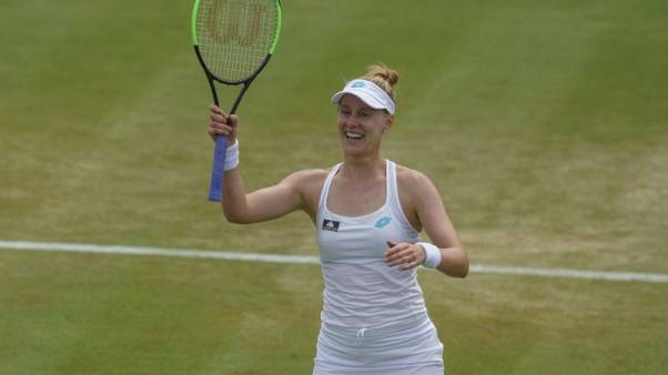 Wedding bells sound sweet to Riske as she prepares to face Williams in quarters