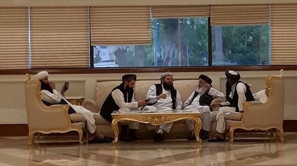 """اختتام محادثات أمريكا وطالبان بعد اتفاق خصوم أفغان على """"خارطة طريق للسلام"""""""