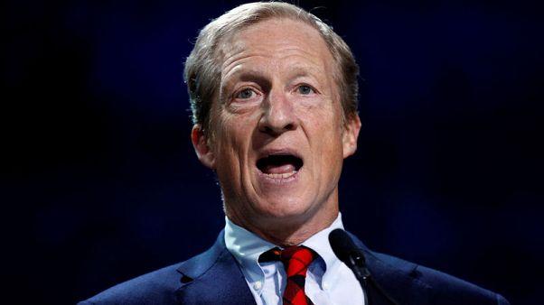 U.S. billionaire Steyer enters 2020 Democratic presidential race