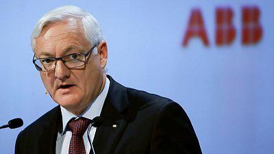 ABB's Voser battles headwinds as he pursues overhaul