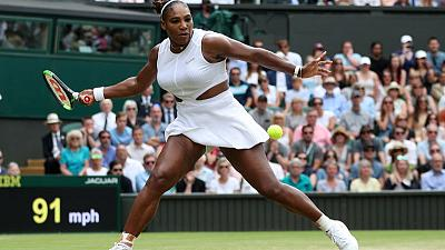 Williams survives Riske business to reach Wimbledon semis